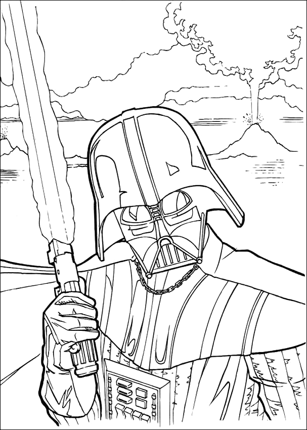 Free Coloring Pages Of Darth Vader Lego Darth Vader Colouring Pages